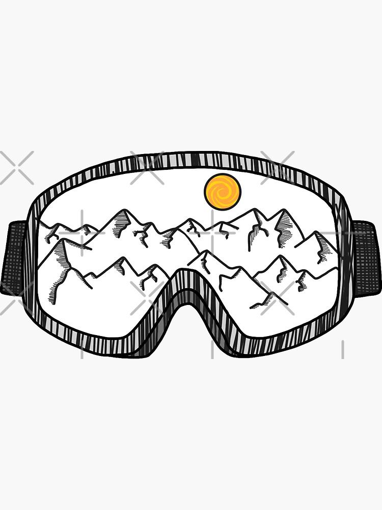 Gafas de esquí de 3blondegirls