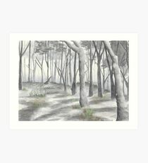 """""""Forest in the Fog""""  Art Print"""