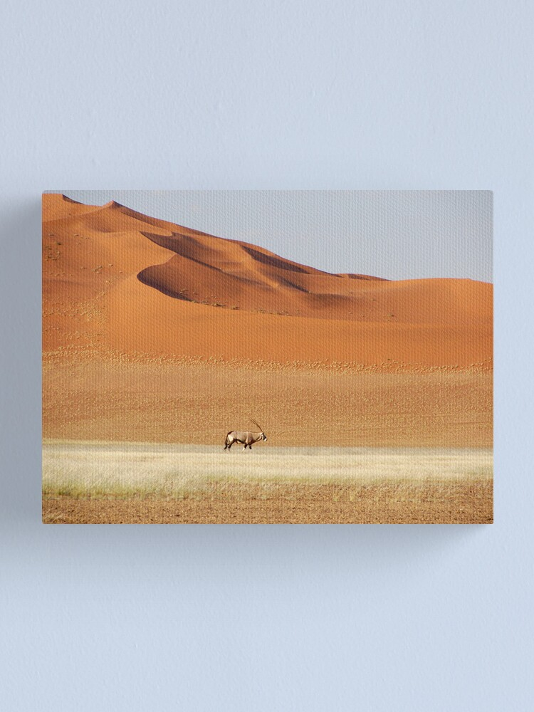Alternate view of An Oryx posing Canvas Print