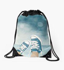 Mochila saco Blue Converse
