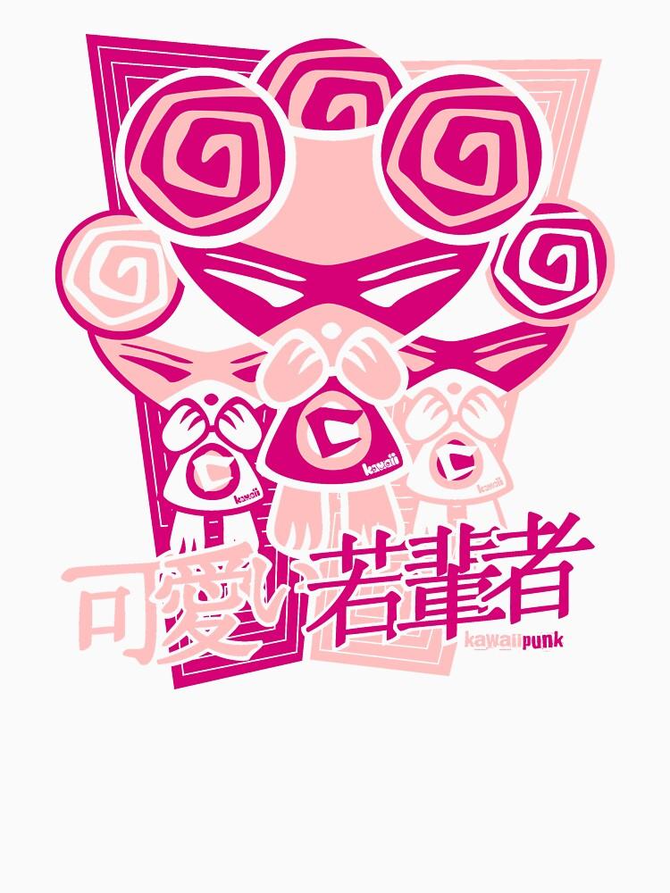 Cute Mascot Stencil by KawaiiPunk