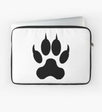Wolf Footstep Laptop Sleeve