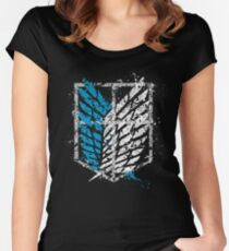 Attack on Titan - Wings of Liberty Women's Fitted Scoop T-Shirt