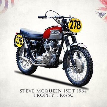 The Steve McQueen ISDT Motorcycle 1964 by rogue-design