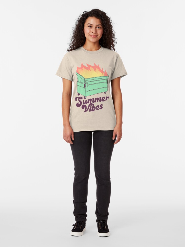 Alternate view of Summer Vibes Classic T-Shirt