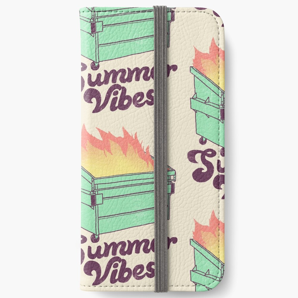 Summer Vibes iPhone Wallet