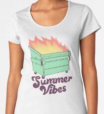 Summer Vibes Women's Premium T-Shirt
