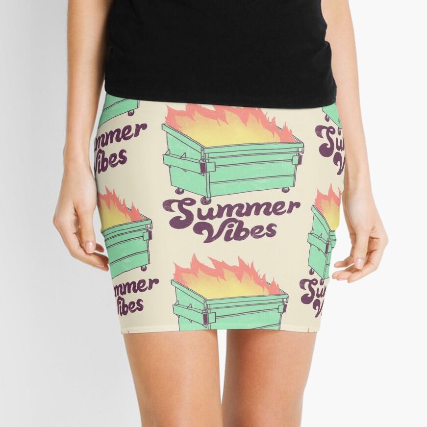 Summer Vibes Mini Skirt