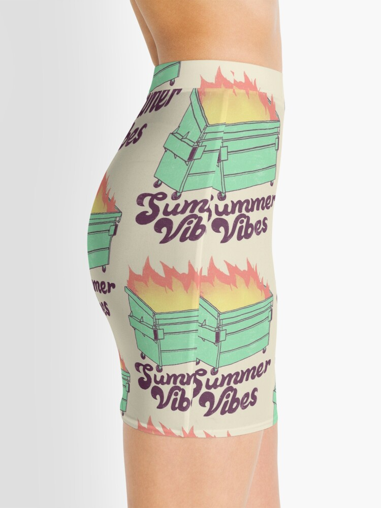 Alternate view of Summer Vibes Mini Skirt