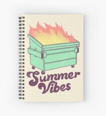 Summer Vibes Spiral Notebook