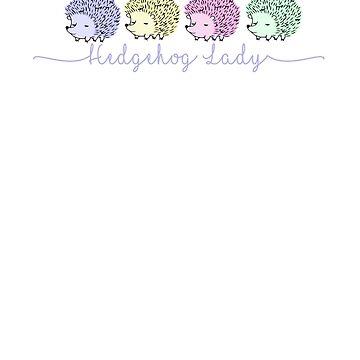 Hedgehog Lady by Urchin Wear by PPricklepants
