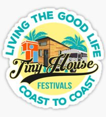 Living the Good Life Coast to Coast Sticker