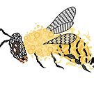 Abstract Bee by Daniel Bevis