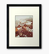 Cobh, County Cork, Irland Atmosphärische Originalvorlage Gerahmtes Wandbild