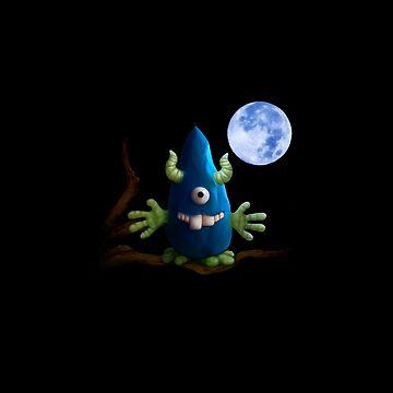 Moonlight Monster by Wroxhawk