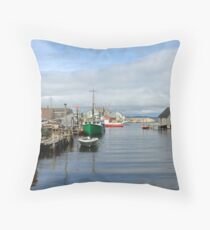 Peggy's Cove Village Throw Pillow