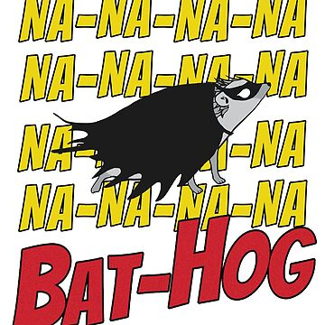 Hedgehog Superhero Bathog by PPricklepants