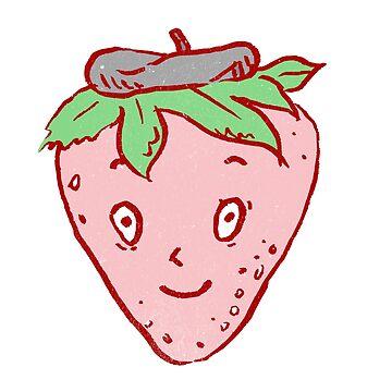 Fresh French Strawberry by ImaginaryAnimal