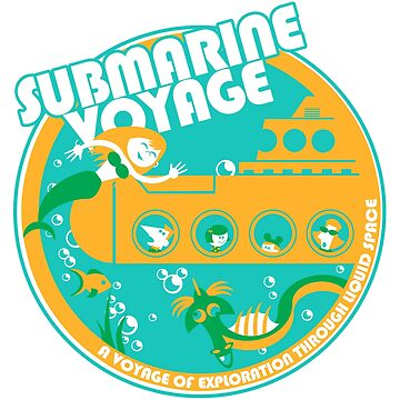 Submarine Voyage (classic colors) by clockworkmonkey