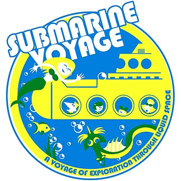 Submarine Voyage (bright colors) by clockworkmonkey