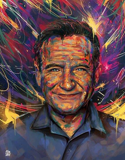 500. Robin Williams von FreeflowArt