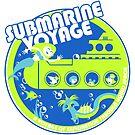 Submarine Voyage (neon colors) by clockworkmonkey