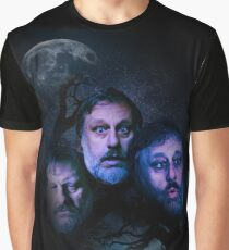 "Slavov Zizek ""3 Wolves"" FanWare Graphic T-Shirt"