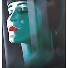 Metropolis UFA Movie poster..Art Deco Future Woman by edsimoneit