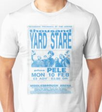 Thousand Yard Stare Flyer Middlesbrough Arena Unisex T-Shirt