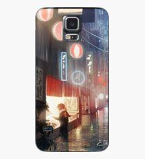 Funda/vinilo para Samsung Galaxy Noche en Tokio