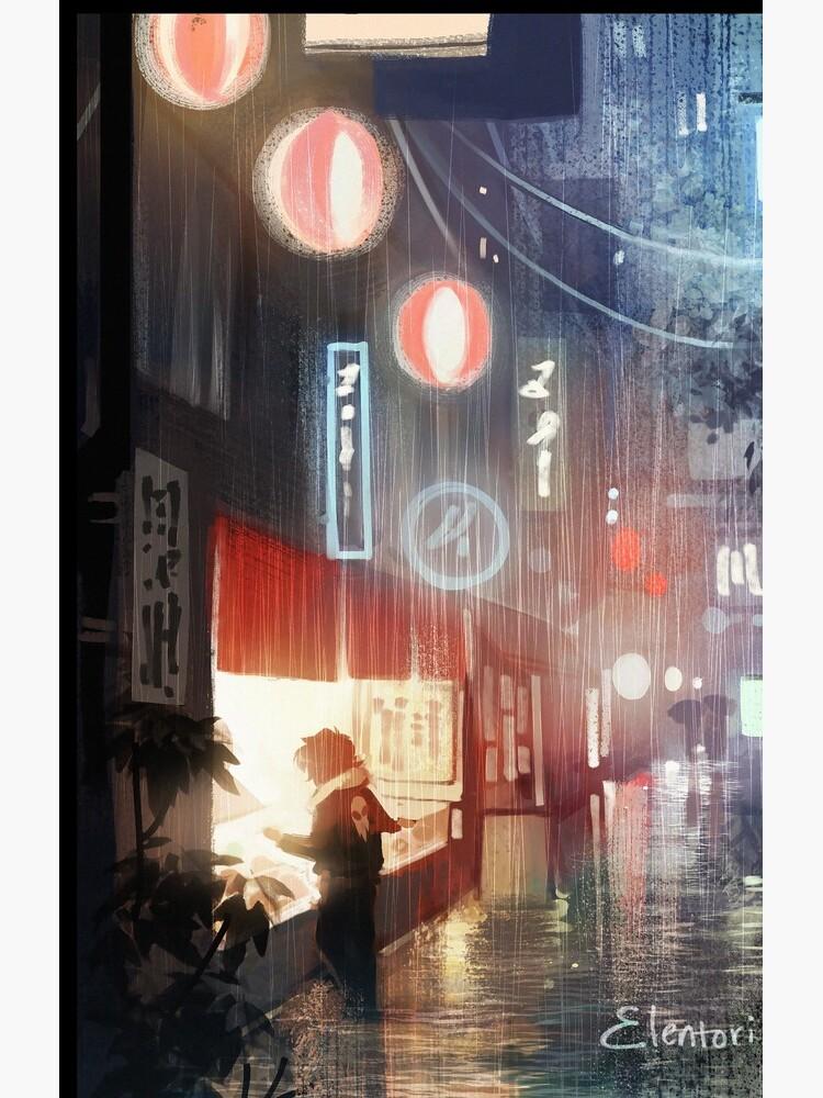 Night in Tokyo by Elentori