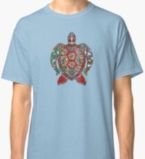 be turtle flower Classic T-Shirt