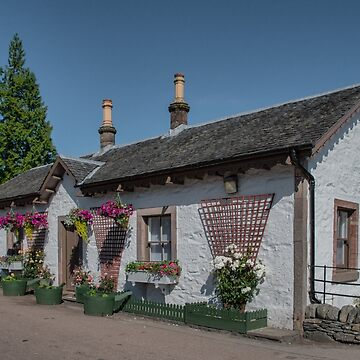 A Charming Cottage in the Village of Luss, Scotland by gerdagrice