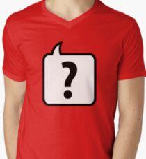 Question? Mens V-Neck T-Shirt