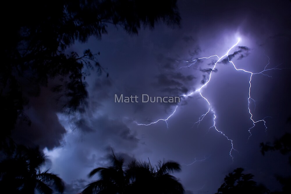 It was a dark and stormy night  by Matt Duncan