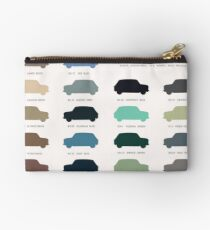 Austin Mini classic - 60's original car colours  Studio Pouch