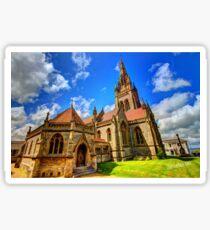 All Saints Church HDR Sticker