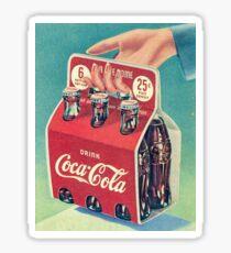 Pegatina Coca Cola Vintage