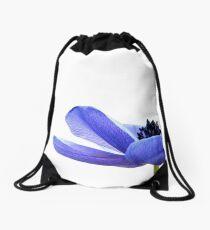 Blue Tutu Drawstring Bag