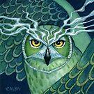 Mystic Owl by Elisabeth Alba