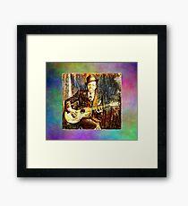 Blues Giants Robert Johnson Framed Art Print