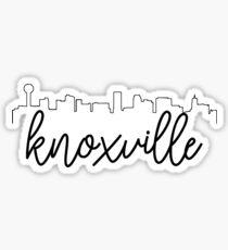 Knoxville Skyline Sticker