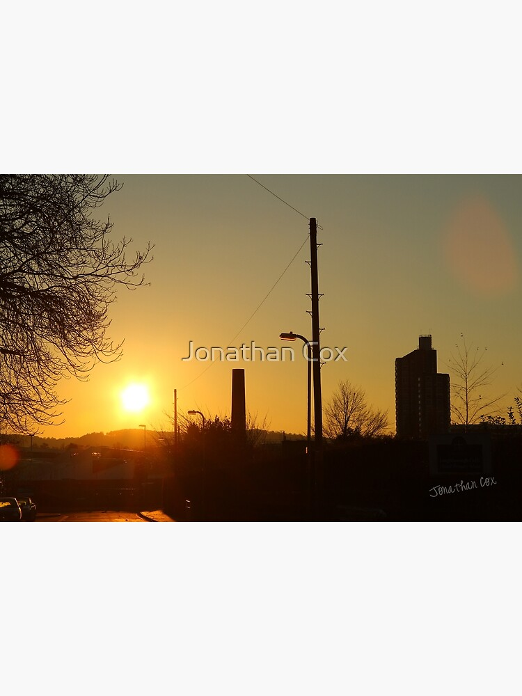 Sunset over Loughborough by Jondave