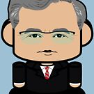 Jeb Bush Politico'bot Toy Robot 1.0 by Carbon-Fibre Media