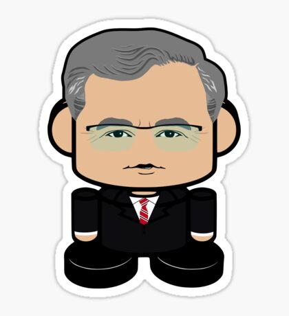 Jeb Bush Politico'bot Toy Robot 1.0 Sticker