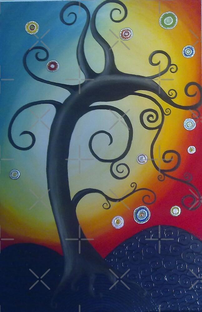 """""""The Dancing Min Min Tree"""" (2) by Melanie Froud"""