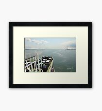 Red Funnel Ferry Crossing Southampton Water Framed Print