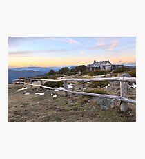 Craig's Hut, Mt Stirling, Australia Photographic Print