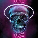 Holly Skull by Felipe Navega