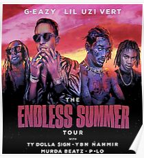 towo G Eazy The Endless Summer Tour 2018 Poster